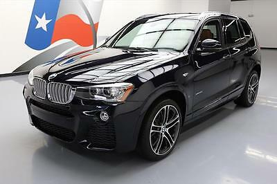 2016 BMW X3 xDrive35i Sport Utility 4-Door 2016 BMW X3 XDRIVE35I AWD M-SPORT PANO ROOF NAV HUD 4K #K36050 Texas Direct Auto