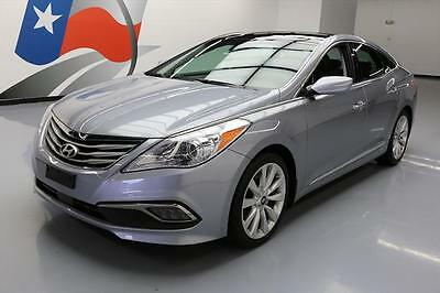 2016 Hyundai Azera Limited Sedan 4-Door 2016 HYUNDAI AZERA LIMITED PANO SUNROOF NAV REAR CAM 6k #550096 Texas Direct