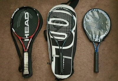 Head & Dunlop Tennis Racquets and Wilson & Head Cases
