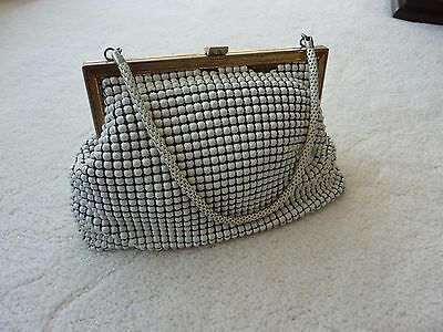 Vintage White Glomesh Bag Purse Authentic Made In Australia