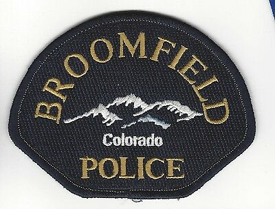 Broomfield (Broomfield County) CO Colorado Police Dept. patch - NEW!