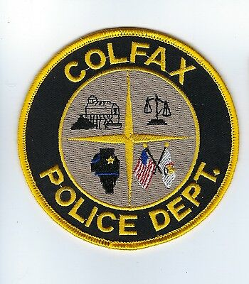 Colfax (McLean County) IL Illinois Police Dept. patch - NEW!