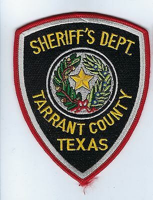 Tarrant County TX Texas Sheriff's Dept. patch - NEW!