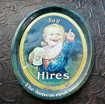 Say Hires The Honest Rootbeer Tray May 21St 1907