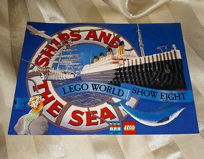 LEGO World Show Eight - Ships and the Sea postcard