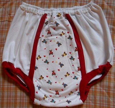 Adult Baby Training Pant  Underwear Diaper Cover Pants Abdl