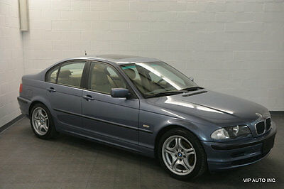 "2000 BMW 3-Series 323i BMW 323i Premium Package Moonroof Heated Seats 17"" M Wheels"