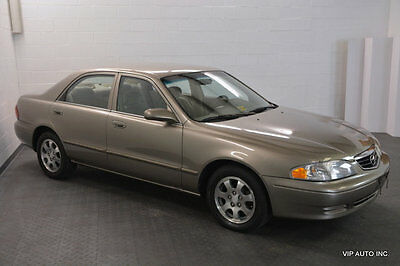 2000 Mazda 626 4dr Sedan LX Automatic Mazda 626 LX Automatic AC CD Player 66355 Miles