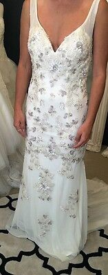Brand New Nicolina Sequin Wedding/Evening Gown - Size 10