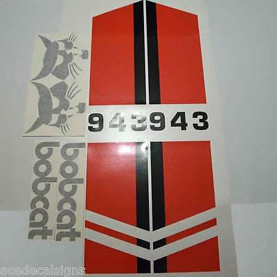 Bobcat 943 DECALS Stickers Skid Steer loader New Repro decal Kit