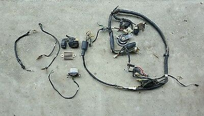 1986 HONDA CH150 ELITE DELUXE  wiring harness and CDI 85 86 87