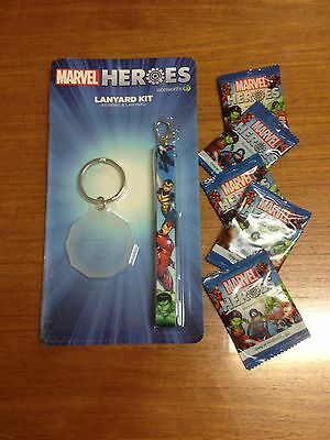 Woolworths Marvel Heroes Collector Tokens Disc Lanyard Bulk Lot