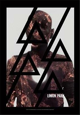 "LINKIN PARK  Rock flag/ Tapestry/ Fabric Poster  ""Burn It""  NEW"