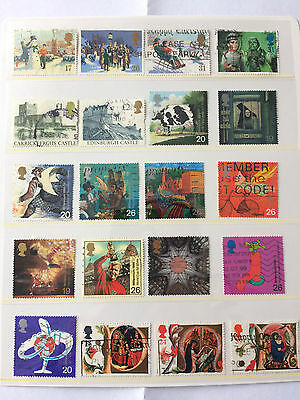 GREAT BRITAIN Small selection of 1990's comemorative issues