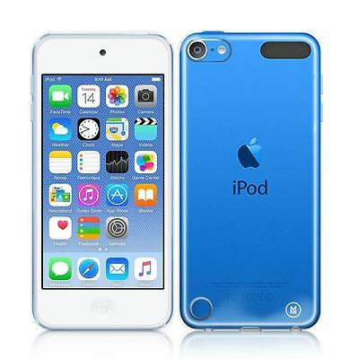 Minisuit Clear Hard Back Case with TPU Shock-Proof Trim for iPod Touch 5 / 6 Gen