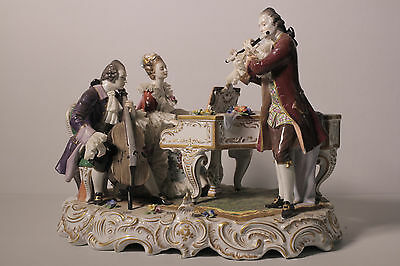 A Dresden Figurine, Musical Trio, Magnificent Piece