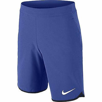 Nike Boys Kids Gladiator Tennis Shorts Blue New 724436-480 S And L