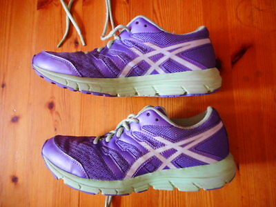 Asics Gel-Zaraca 4 Running Shoes Kids Size Us 6 Excellent Condition