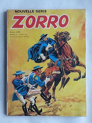 ZORRO NOUVELLE SERIE n° 14 ( ARSCAN )