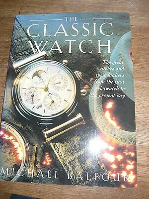 The classic watch book Michael Balfour