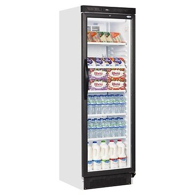 New Left Handed Single Glass Door Drinks Display Cooler Fridge Bottle Chiller