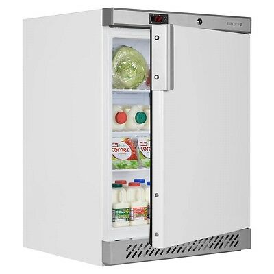 New Tefcold Ur 200 White Catering Undercounter Fridge & Free Next Day Delivery!