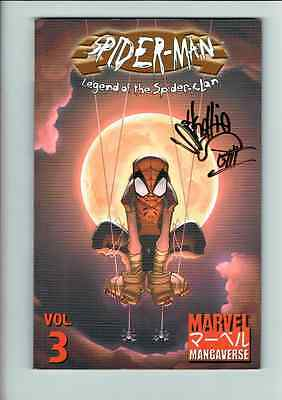 SPIDER-MAN: LEGEND OF THE SPIDER CLAN TPB SIGNED by Skottie Young