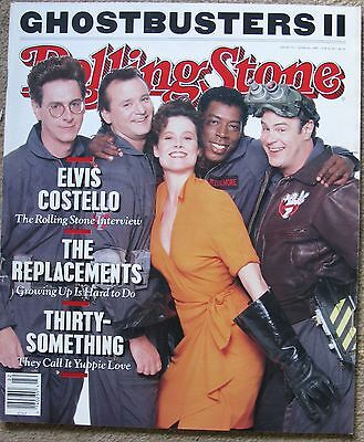 Rolling Stone Magazine 553 June 1st 1989, Ghostbusters 2, Elvis Costello