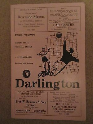 1971-72 Darlington v Peterborough