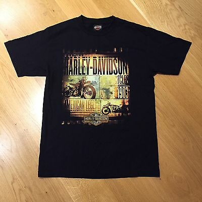 Harley-Heaven Harley Davidson American Legend Motorcycle T-Shirt Black Mens M