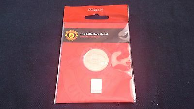 Manchester United Royal Mint Collectors Medal Old Trafford Theatre Of Dreams