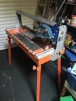 RUBI Wet Wheel Tile Cutter, Electric , Used