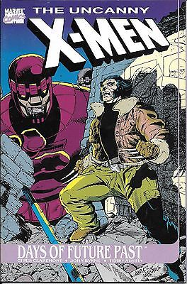 Marvel comic Annual the Uncanny X Men Days of Future Past from 1991