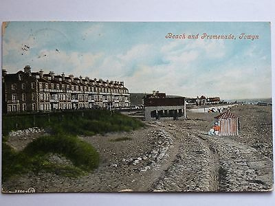 Beach and Promenade Towyn Denbighshire