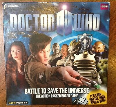 Dr Who, Battle To Save The Universe Board Game
