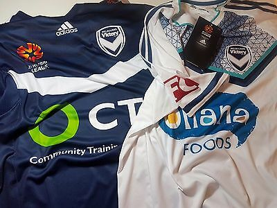 MELBOURNE VICTORY ADIDAS Jersey Shirt Official Soccer Football Equipment RRP$100