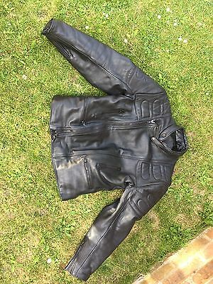 Hein Gericke Leather Motorbike Jacket And Richa Leather Trousers