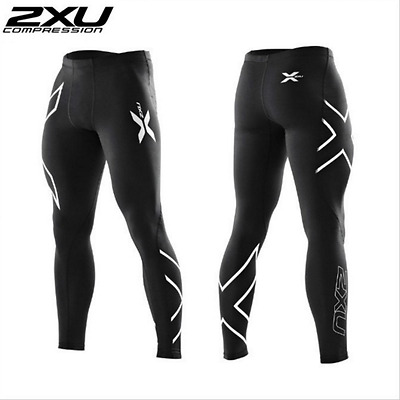 2017 - 2XU Mens Compression Tights Pants Male Quick-Drying