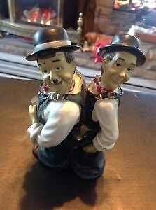 laurel and hardy figure
