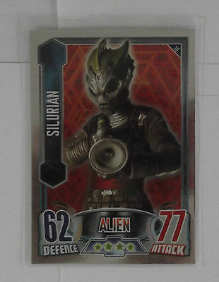 Topps Doctor Who Alien Attax Mirror Foil Card - 30 Silurian