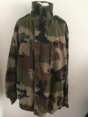 Vintage French F1 Camouflage Combat Jacket Great Condition