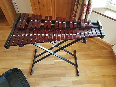 Gear4music Xylaphone - Includes stand, carry case & sticks (+Collection option)