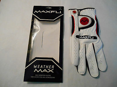 Maxfli Weather Max all weather glove golf men's L reg right