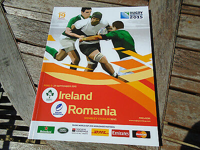 rugby world cup program from 2015 match number 19
