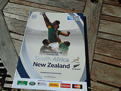 rugby world cup program from 2015 match number 45