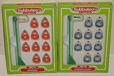 Subbuteo Leggenda Lw Olanda 1974 + Germania Est 1974 - Lotto 2 Team Squadra