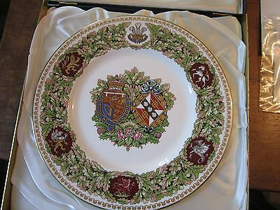 Minton Royal Wedding Plate ; Limited Edition number 692 of 1000 made ; Boxed