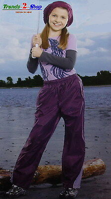Girl Rain Pants Mud Over-pants Weather Wind Outdoor trousers A NEW