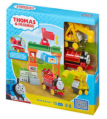 Mega Bloks Thomas & Friends Build With Kevin & Victor Junior Builders Cnj10
