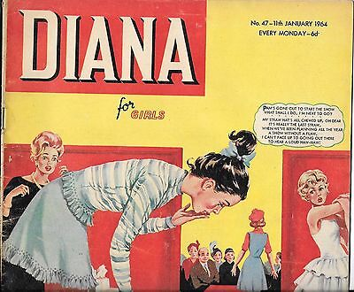 vintage Diana comic for girls No 47 Jan 11th 1964